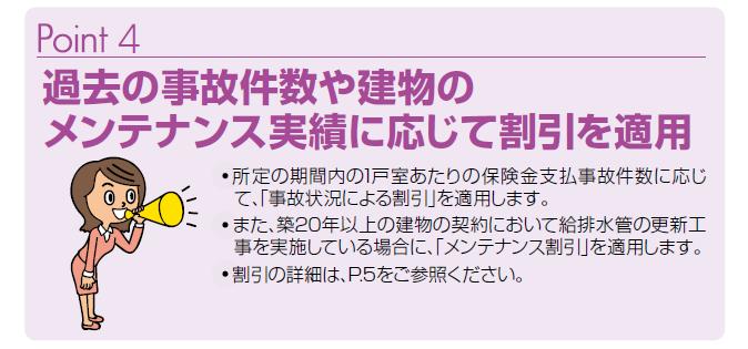 マンション総合保険 割引制度でお得!
